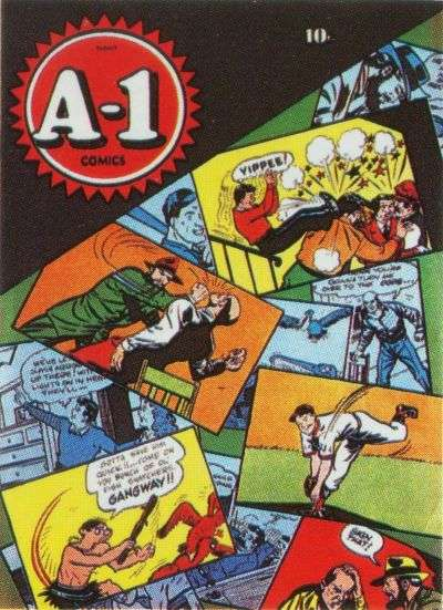 A-1 #2 Comic Books - Covers, Scans, Photos  in A-1 Comic Books - Covers, Scans, Gallery