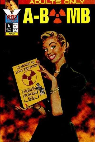 A-Bomb #4 comic books for sale