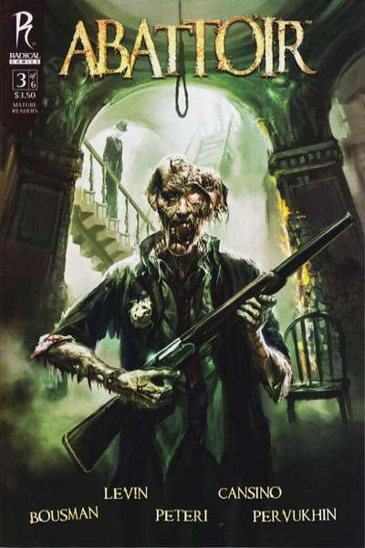 Abattoir #3 Comic Books - Covers, Scans, Photos  in Abattoir Comic Books - Covers, Scans, Gallery