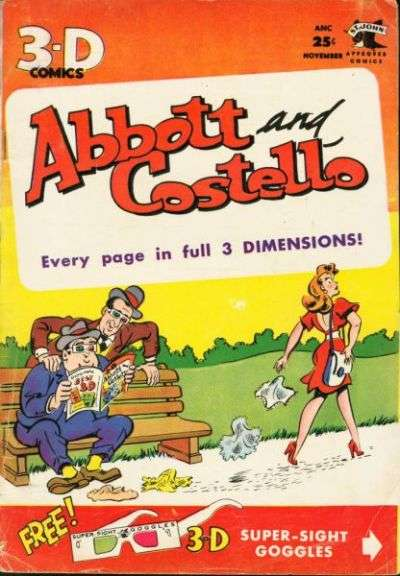 Abbott and Costello  #1 comic books for sale