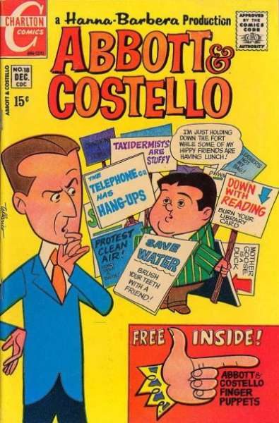 Abbott and Costello #18 Comic Books - Covers, Scans, Photos  in Abbott and Costello Comic Books - Covers, Scans, Gallery
