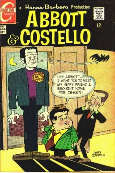 Abbott and Costello #4 Comic Books - Covers, Scans, Photos  in Abbott and Costello Comic Books - Covers, Scans, Gallery
