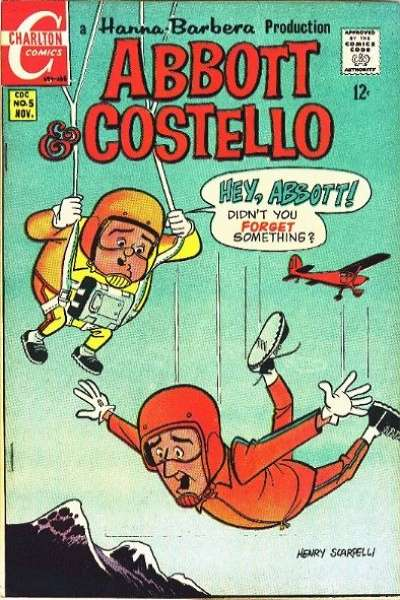 Abbott and Costello #5 Comic Books - Covers, Scans, Photos  in Abbott and Costello Comic Books - Covers, Scans, Gallery