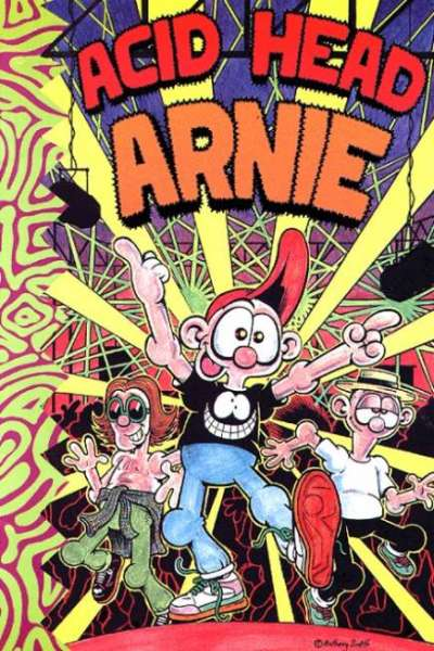 Acid Head Arnie comic books