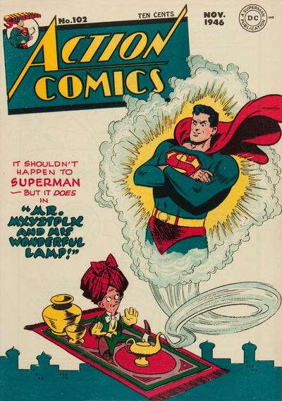 Action Comics #102 comic books - cover scans photos Action Comics #102 comic books - covers, picture gallery