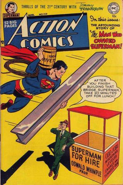 Action Comics #159 Comic Books - Covers, Scans, Photos  in Action Comics Comic Books - Covers, Scans, Gallery