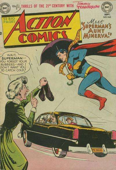 Action Comics #160 Comic Books - Covers, Scans, Photos  in Action Comics Comic Books - Covers, Scans, Gallery