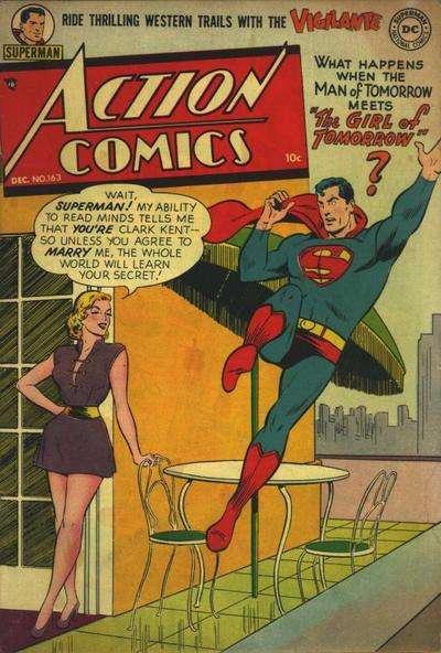 Action Comics #163 Comic Books - Covers, Scans, Photos  in Action Comics Comic Books - Covers, Scans, Gallery