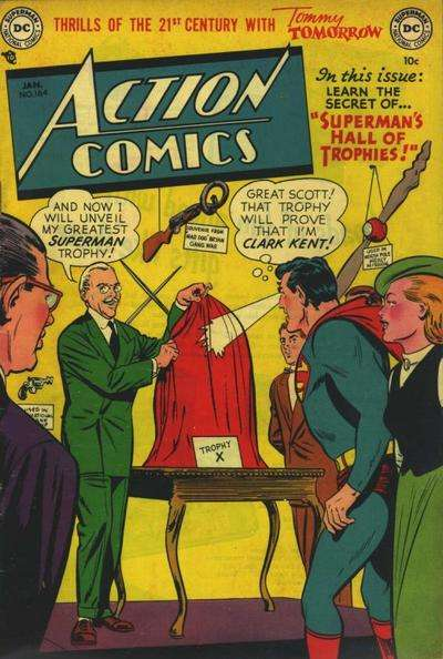 Action Comics #164 Comic Books - Covers, Scans, Photos  in Action Comics Comic Books - Covers, Scans, Gallery