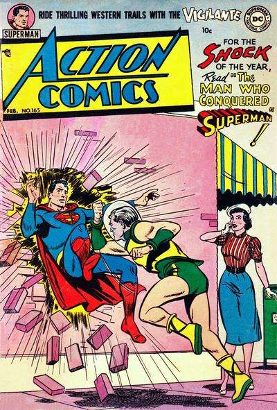 Action Comics #165 Comic Books - Covers, Scans, Photos  in Action Comics Comic Books - Covers, Scans, Gallery