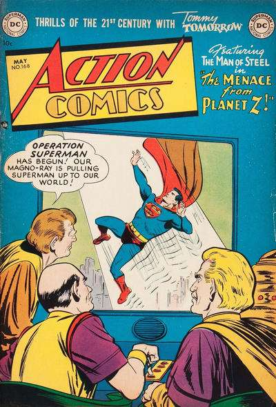 Action Comics #168 Comic Books - Covers, Scans, Photos  in Action Comics Comic Books - Covers, Scans, Gallery