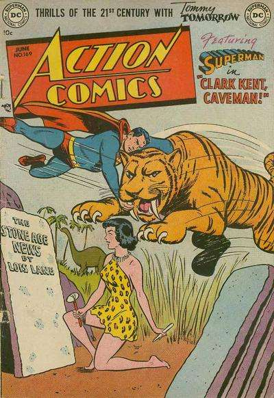 Action Comics #169 Comic Books - Covers, Scans, Photos  in Action Comics Comic Books - Covers, Scans, Gallery