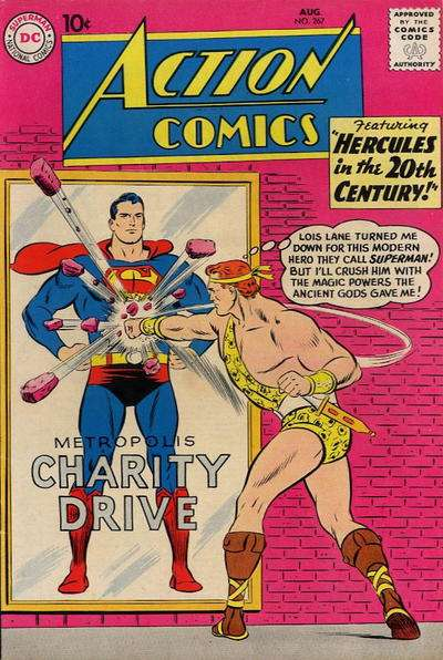 Action Comics #267 comic books for sale