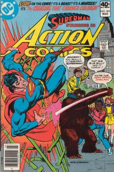 Action Comics #505 Comic Books - Covers, Scans, Photos  in Action Comics Comic Books - Covers, Scans, Gallery