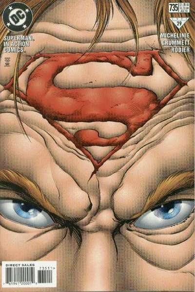 Action Comics #735 Comic Books - Covers, Scans, Photos  in Action Comics Comic Books - Covers, Scans, Gallery