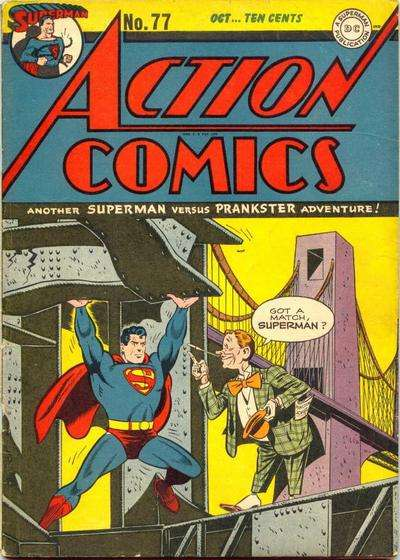 Action Comics #77 Comic Books - Covers, Scans, Photos  in Action Comics Comic Books - Covers, Scans, Gallery