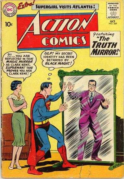 Action Comics #269 comic books - cover scans photos Action Comics #269 comic books - covers, picture gallery