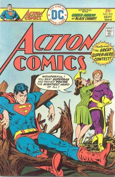 Action Comics #451 Comic Books - Covers, Scans, Photos  in Action Comics Comic Books - Covers, Scans, Gallery