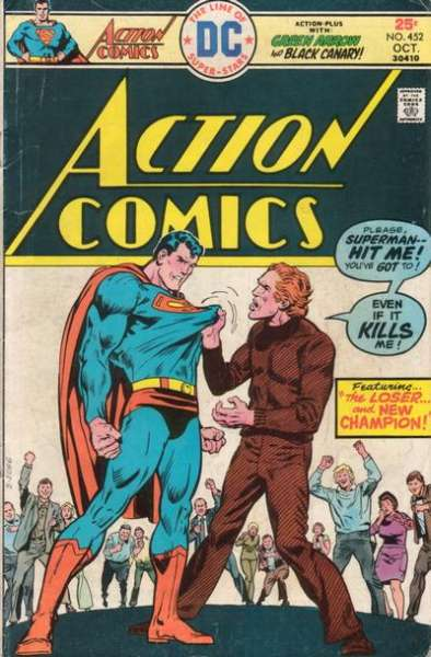 Action Comics #452 Comic Books - Covers, Scans, Photos  in Action Comics Comic Books - Covers, Scans, Gallery