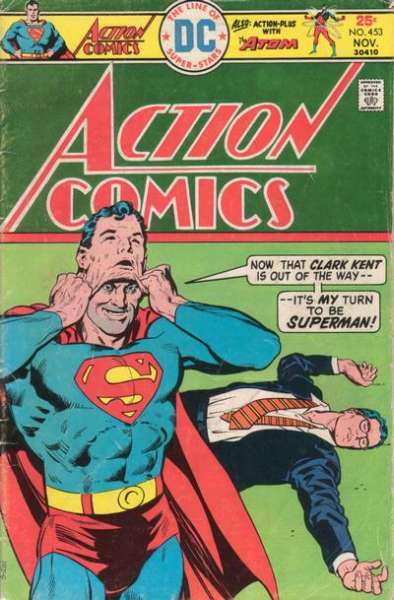 Action Comics #453 comic books - cover scans photos Action Comics #453 comic books - covers, picture gallery