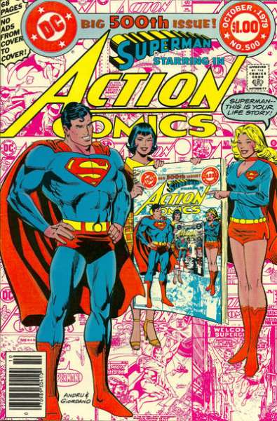 Action Comics #500 comic books - cover scans photos Action Comics #500 comic books - covers, picture gallery