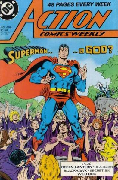 Action Comics #606 Comic Books - Covers, Scans, Photos  in Action Comics Comic Books - Covers, Scans, Gallery