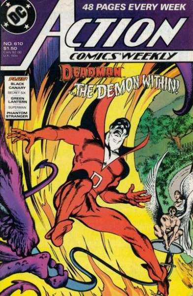 Action Comics #610 comic books for sale