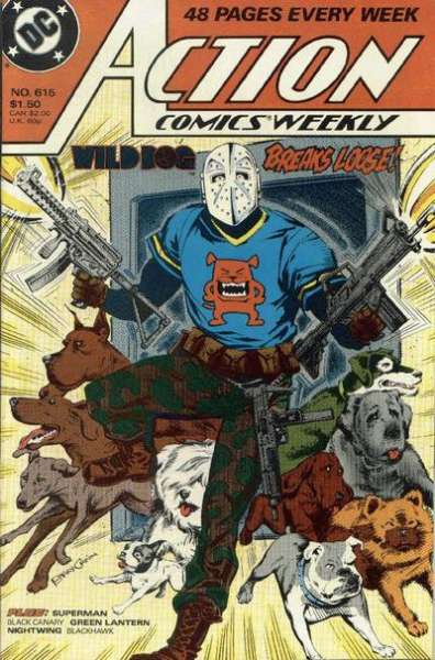 Action Comics #615 Comic Books - Covers, Scans, Photos  in Action Comics Comic Books - Covers, Scans, Gallery