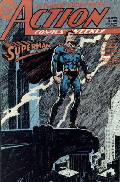 Action Comics #623 Comic Books - Covers, Scans, Photos  in Action Comics Comic Books - Covers, Scans, Gallery