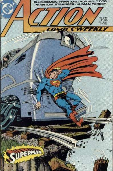 Action Comics #641 comic books - cover scans photos Action Comics #641 comic books - covers, picture gallery