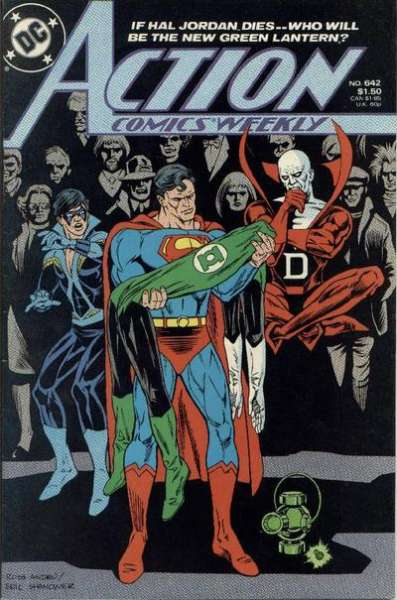 Action Comics #642 Comic Books - Covers, Scans, Photos  in Action Comics Comic Books - Covers, Scans, Gallery