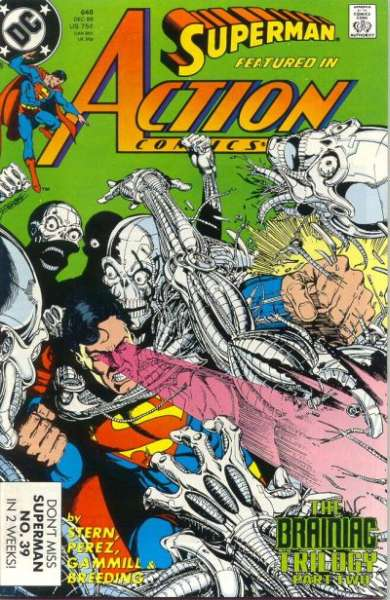 Action Comics #648 comic books - cover scans photos Action Comics #648 comic books - covers, picture gallery
