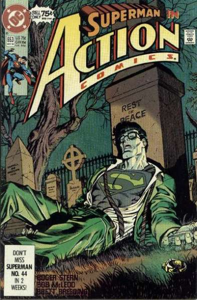 Action Comics #653 comic books - cover scans photos Action Comics #653 comic books - covers, picture gallery