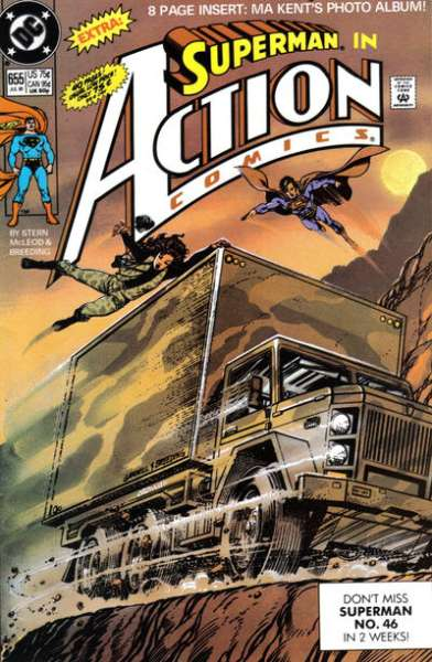 Action Comics #655 comic books - cover scans photos Action Comics #655 comic books - covers, picture gallery