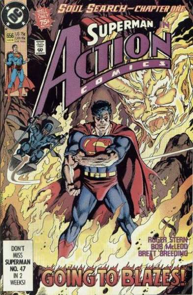 Action Comics #656 comic books - cover scans photos Action Comics #656 comic books - covers, picture gallery