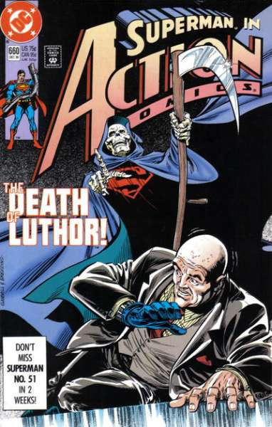 Action Comics #660 comic books - cover scans photos Action Comics #660 comic books - covers, picture gallery