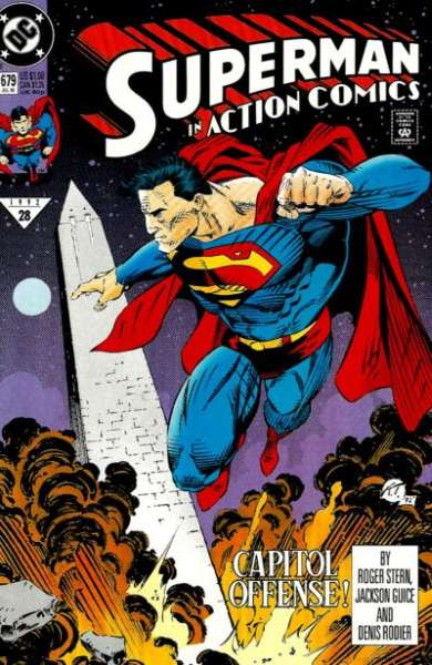Action Comics #679 Comic Books - Covers, Scans, Photos  in Action Comics Comic Books - Covers, Scans, Gallery