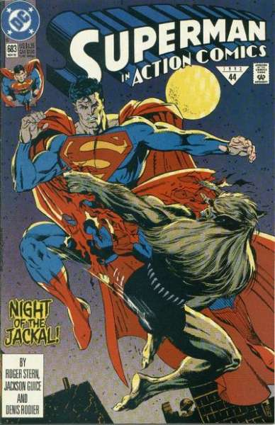 Action Comics #683 Comic Books - Covers, Scans, Photos  in Action Comics Comic Books - Covers, Scans, Gallery