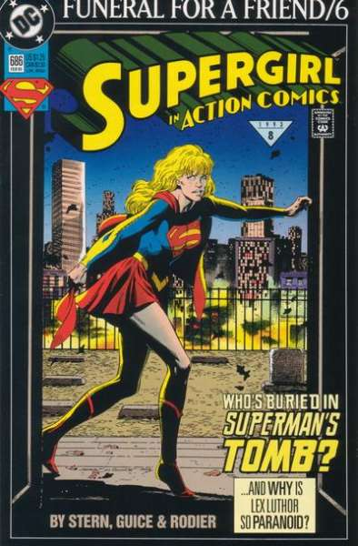 Action Comics #686 Comic Books - Covers, Scans, Photos  in Action Comics Comic Books - Covers, Scans, Gallery