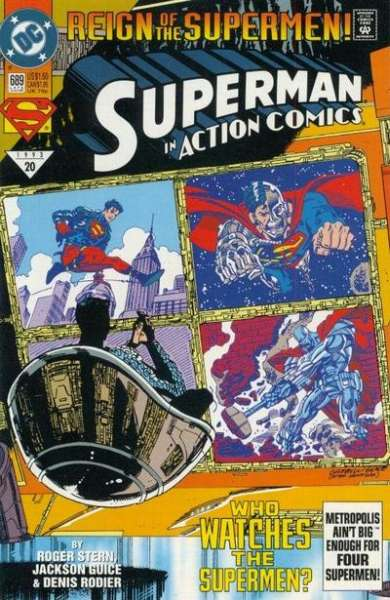 Action Comics #689 comic books for sale