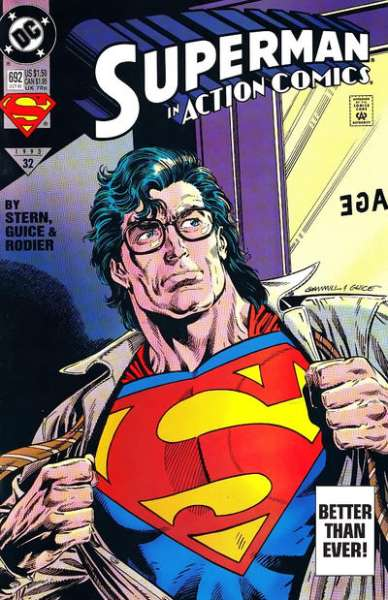Action Comics #692 Comic Books - Covers, Scans, Photos  in Action Comics Comic Books - Covers, Scans, Gallery