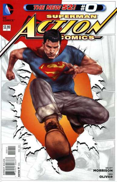 Action Comics #0 comic books for sale