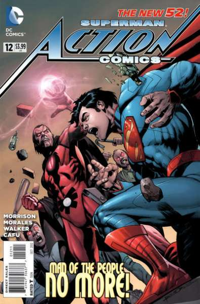 Action Comics #12 comic books - cover scans photos Action Comics #12 comic books - covers, picture gallery