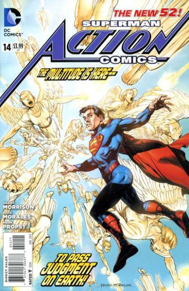 Action Comics #14 comic books - cover scans photos Action Comics #14 comic books - covers, picture gallery