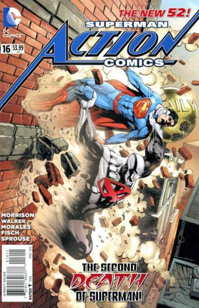 Action Comics #16 comic books - cover scans photos Action Comics #16 comic books - covers, picture gallery