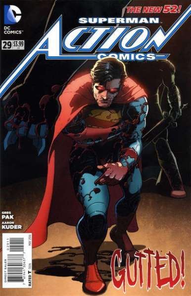 Action Comics #29 comic books - cover scans photos Action Comics #29 comic books - covers, picture gallery
