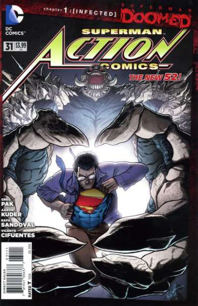 Action Comics #31 comic books - cover scans photos Action Comics #31 comic books - covers, picture gallery