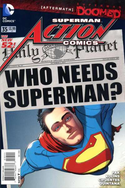 Action Comics #35 comic books for sale