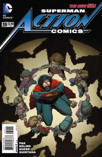 Action Comics #39 comic books for sale