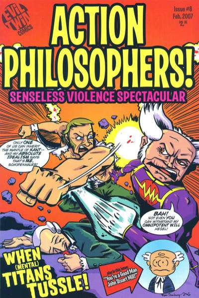 Action Philosophers #8 Comic Books - Covers, Scans, Photos  in Action Philosophers Comic Books - Covers, Scans, Gallery
